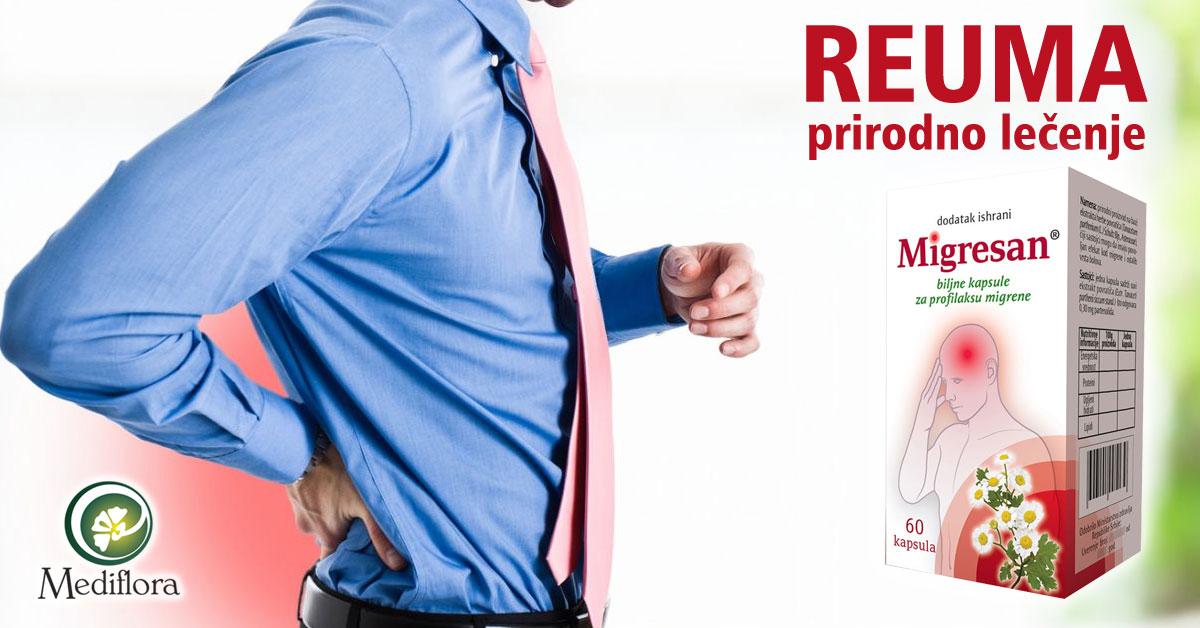 Reuma - prirodno lečenje