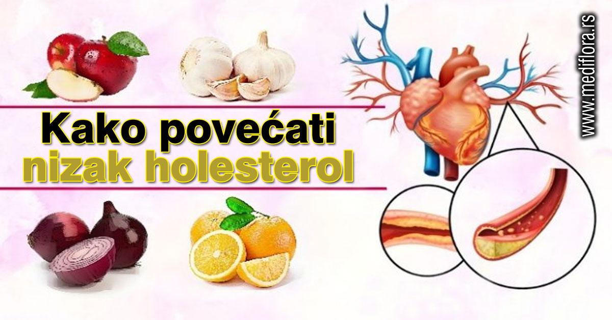 Kako povećati nizak holesterol