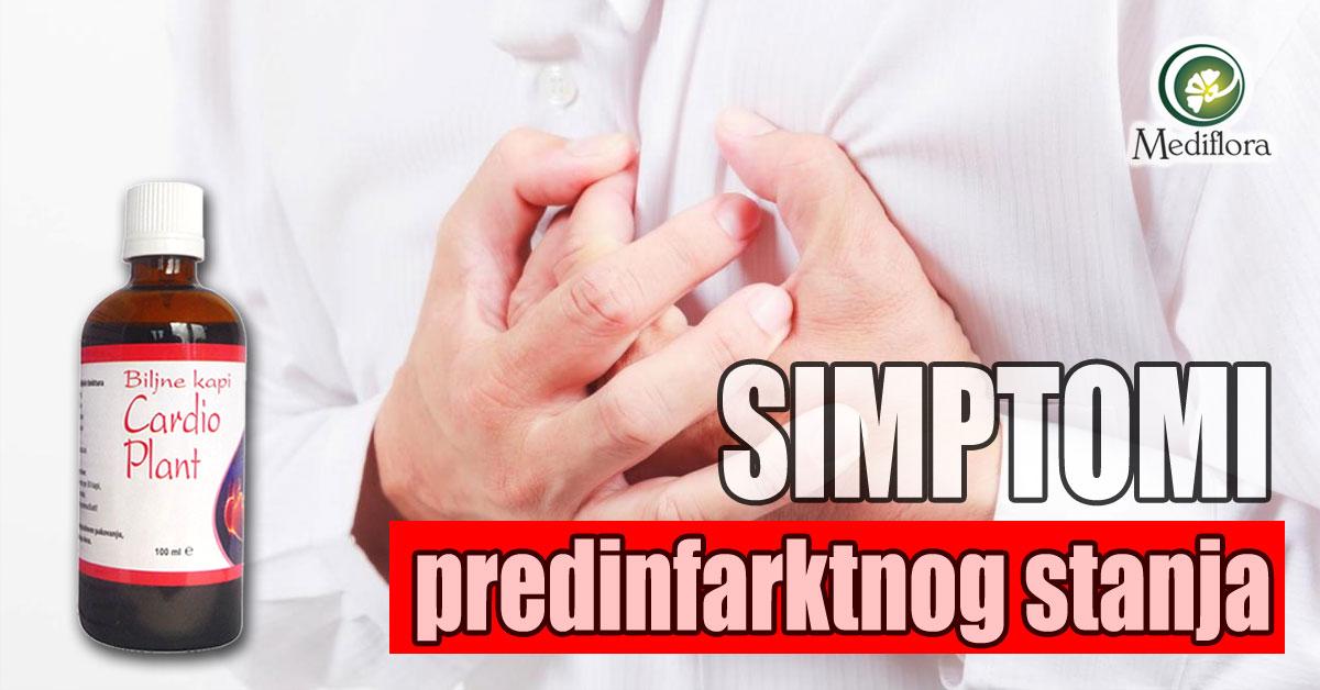 Simptomi predinfarktnog stanja