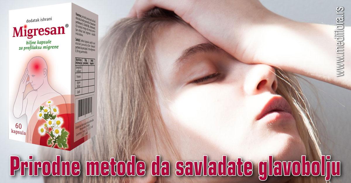 Prirodne metode da savladate glavobolju