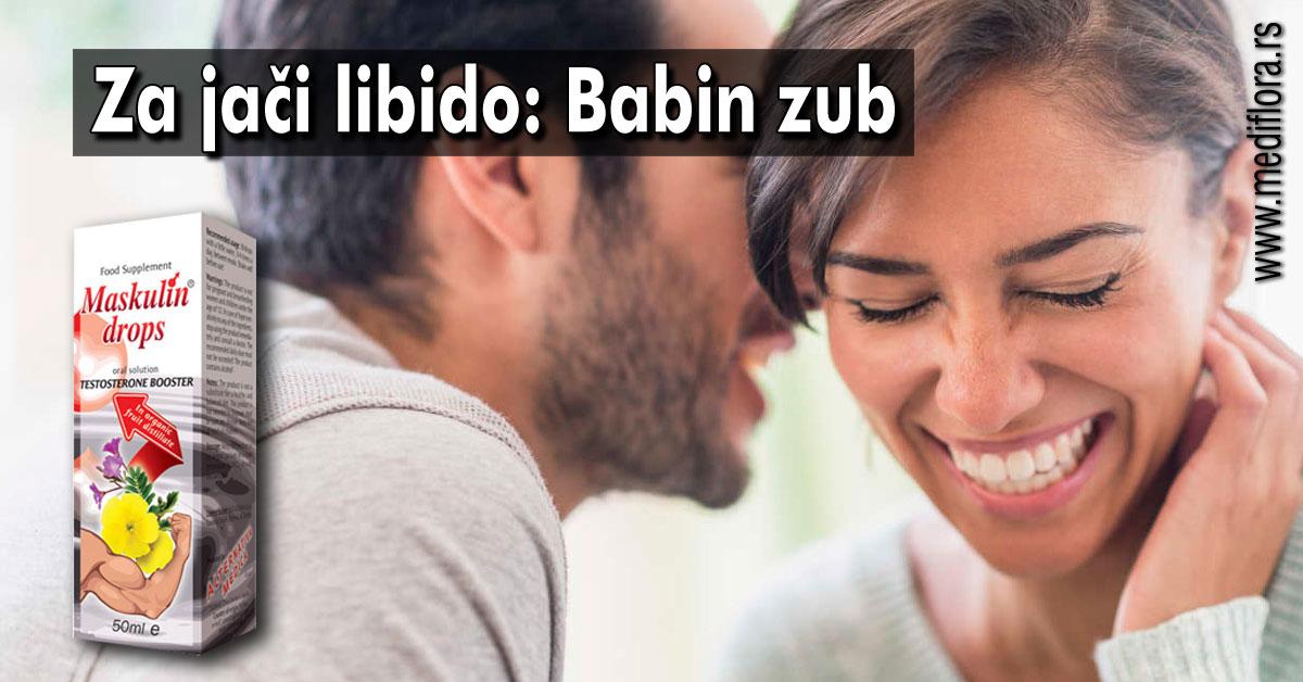 Za jači libido: Babin zub