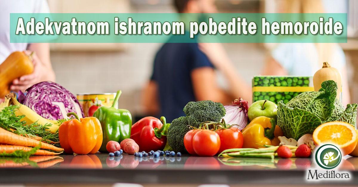 Adekvatnom ishranom pobedite hemoroide