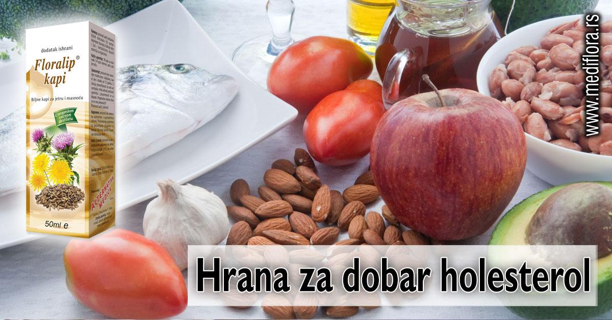 Hrana za dobar holesterol