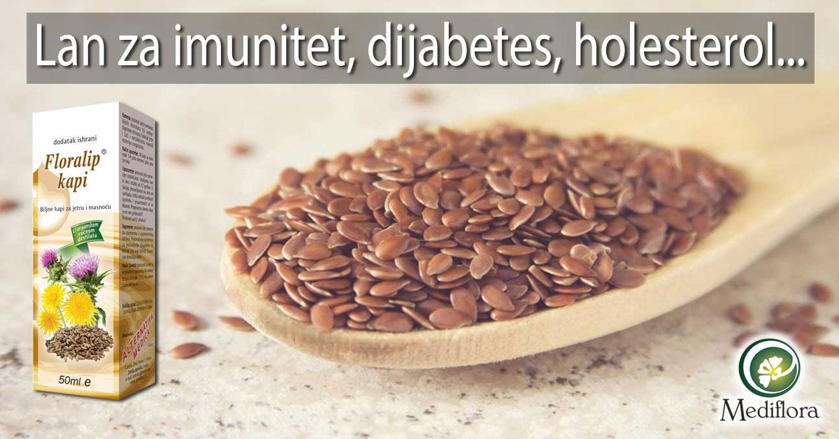 Lan za imunitet, dijabetes, holesterol...