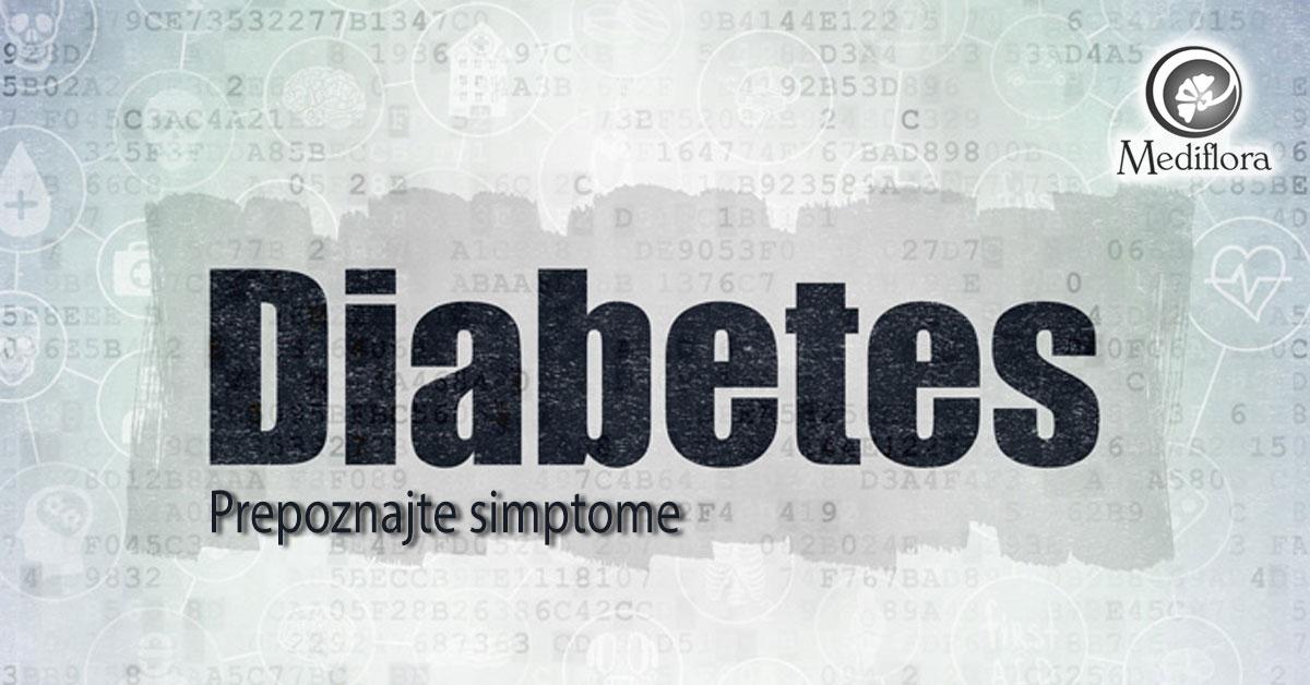 Prepoznajte simptome dijabetesa