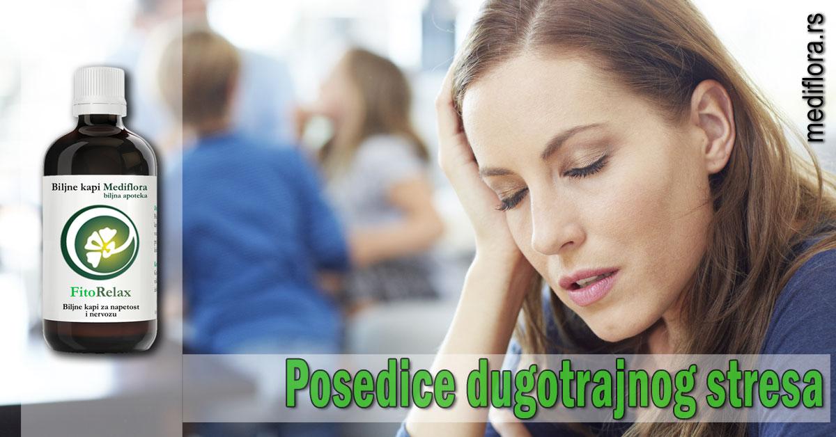 Posedice dugotrajnog stresa