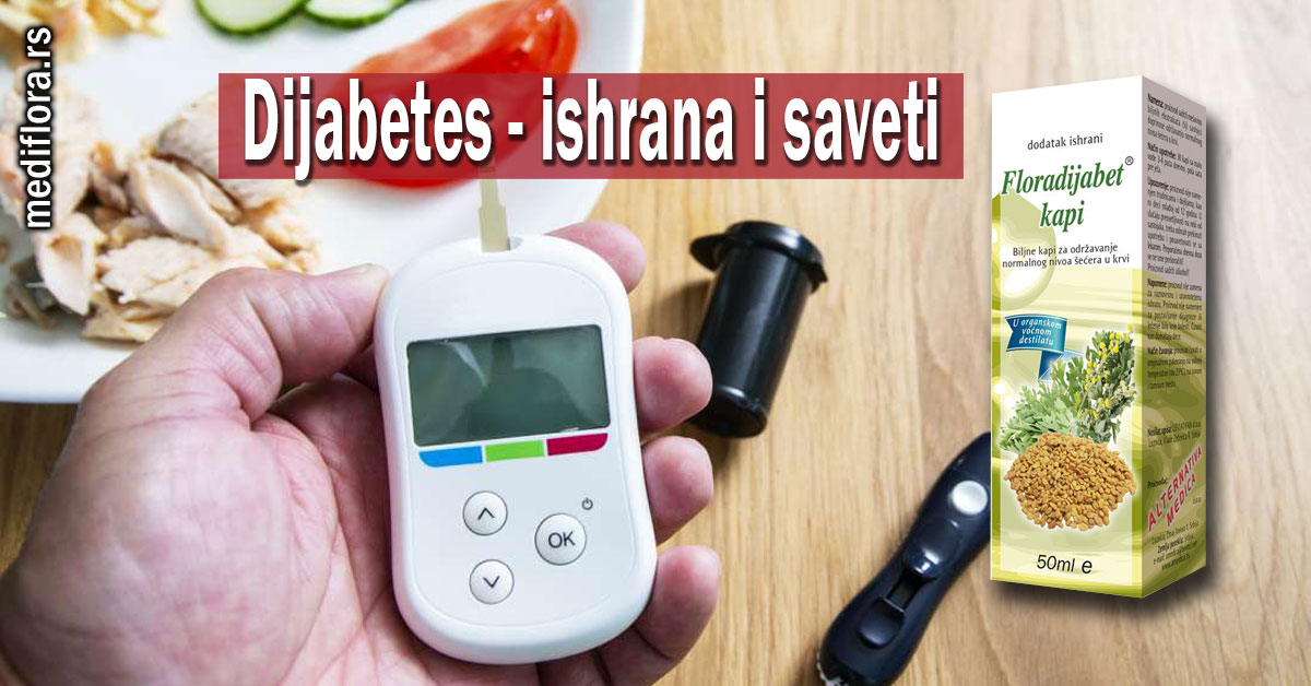 Dijabetes - ishrana i saveti