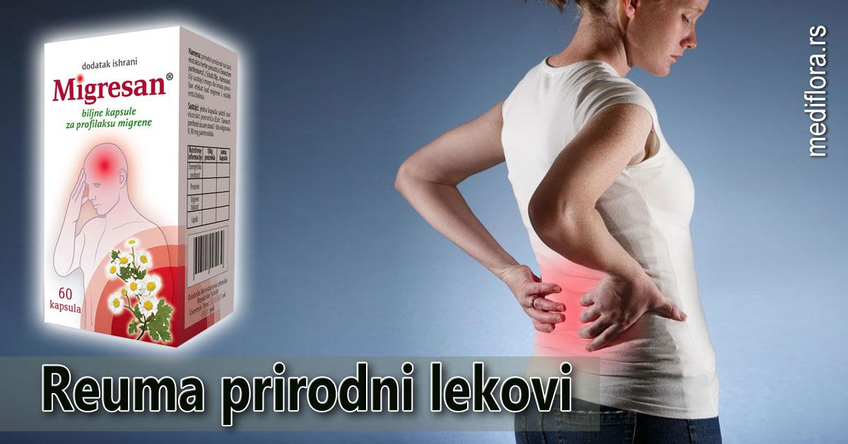 Reuma prirodni lekovi