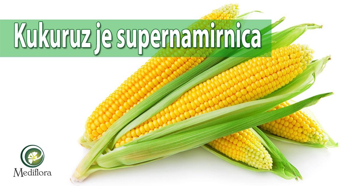 Kukuruz je supernamirnica