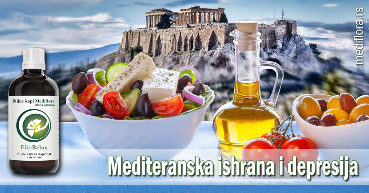 Mediteranska ishrana i depresija
